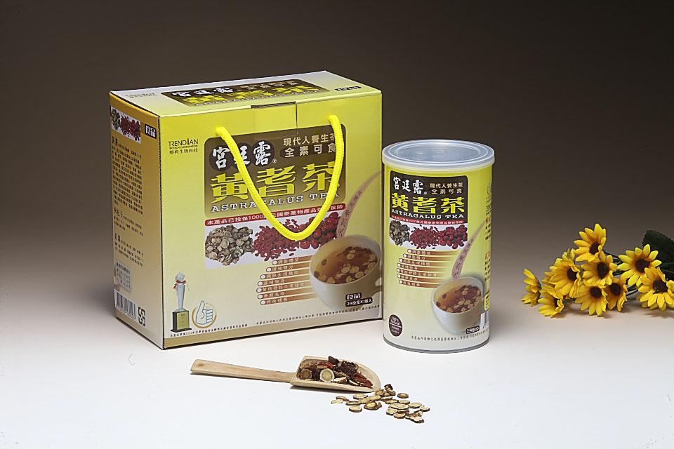 宫廷露-黄耆茶桶(2罐/盒)