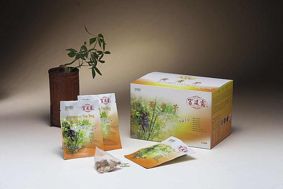 宫廷露黄耆茶包(40包/盒)