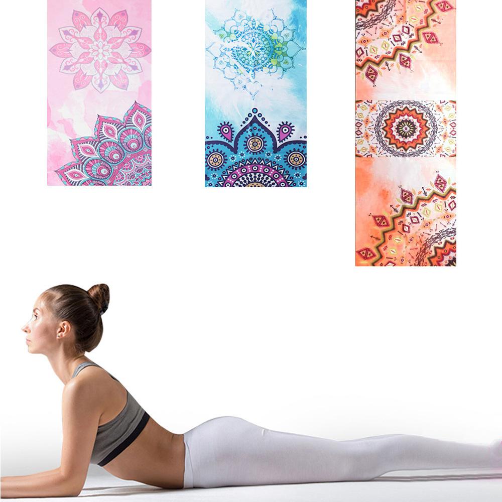 【LOTUS】静心曼陀罗-水洗式吸汗速干静坐瑜珈铺巾-3色