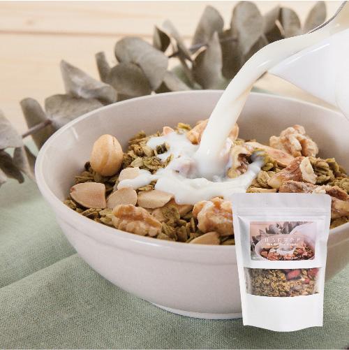 [午后小食光] 日式煎茶烤麦片 (200g/包)