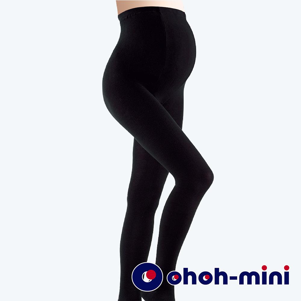 时尚妈咪黑色保暖裤袜-加长版