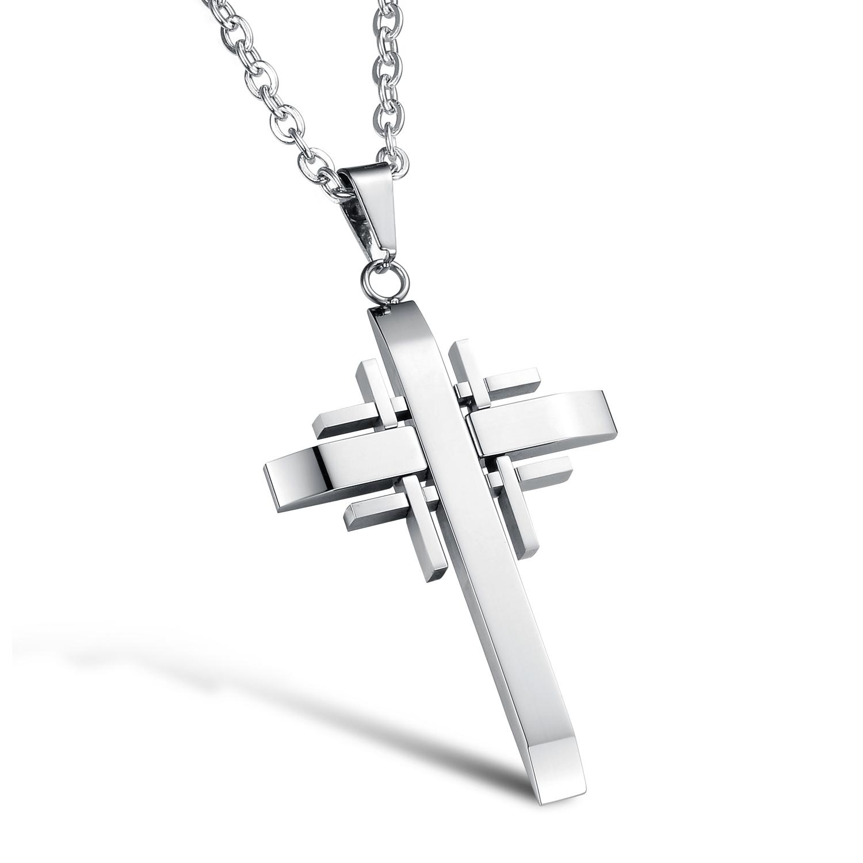 上帝的四个真理十字吊坠   NST102YI