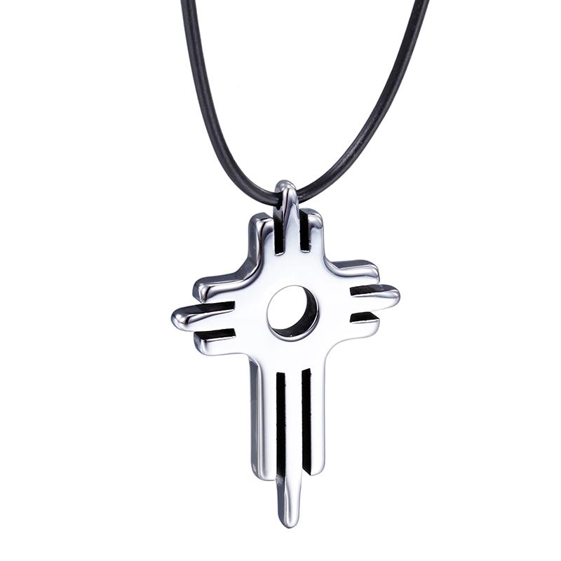 圣十字钨钢吊坠   NST012KA