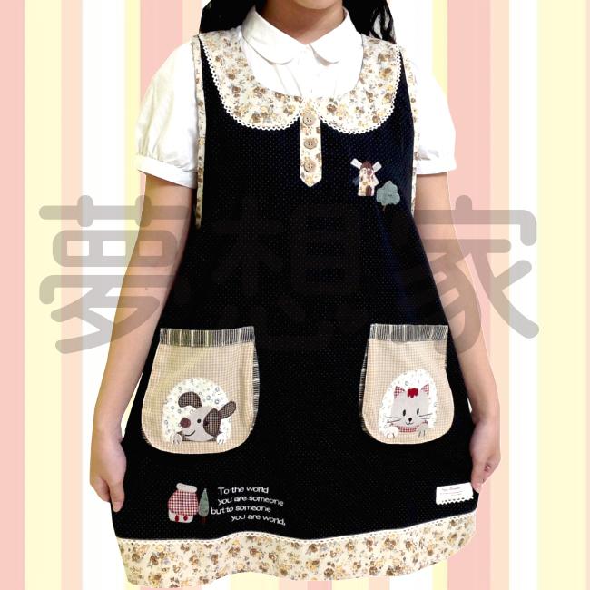 日式和风拼布 围裙 风车 《 双口袋设计 》 ★超有质感喔★ 梦想家精品生活家饰