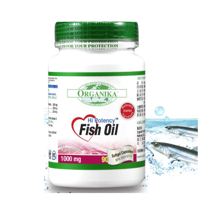 [Organika优格康] 高单位鱼油1000mg (90颗/瓶)