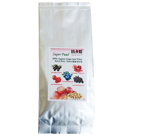 【DR.O KO】100%有机葡萄籽粉 100% ORGANIC GRAPE SEED FLOUR 150g