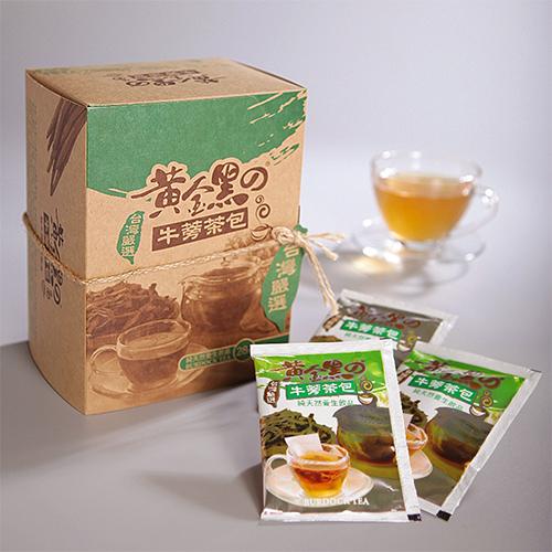 [纯天然养生饮品] 黄金黑牛蒡茶包 4gx28包/盒