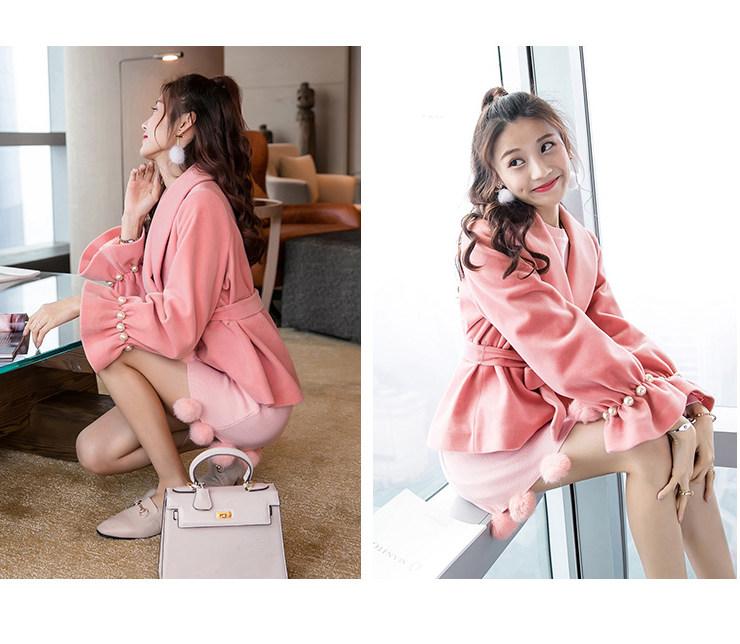 女生冬季外套韩版新款短款韩版潮流矮个子显高丝绒女