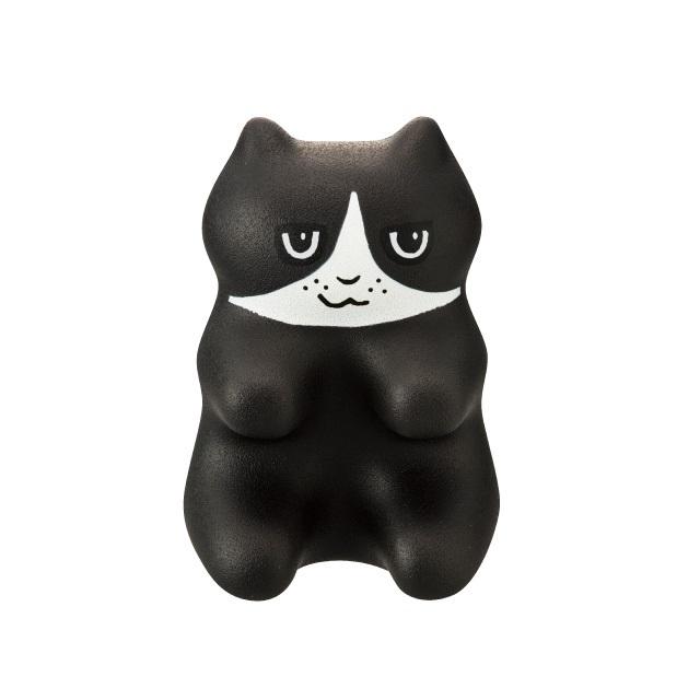 《PROIDEA》猫形指压器-小八(黑白)