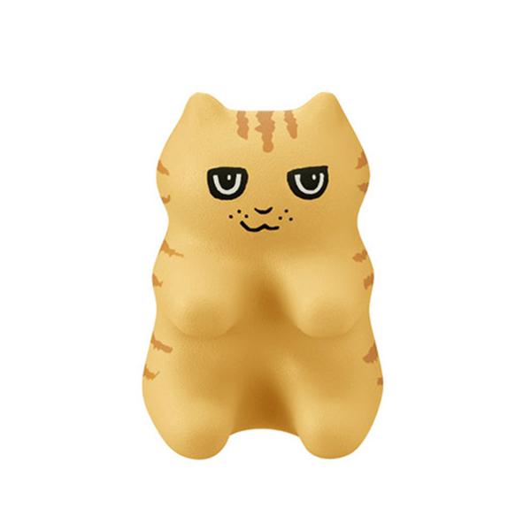 《PROIDEA》猫形指压器-小茶(咖啡色)