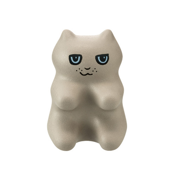 《PROIDEA》猫形指压器-小灰(灰色)