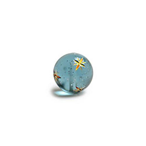 单孔星芒球珠(12mm)OL-00602-NB