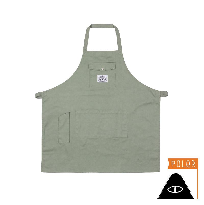 POLER - CAMP APRON 棉布围兜 / 工作服 / 橄榄绿