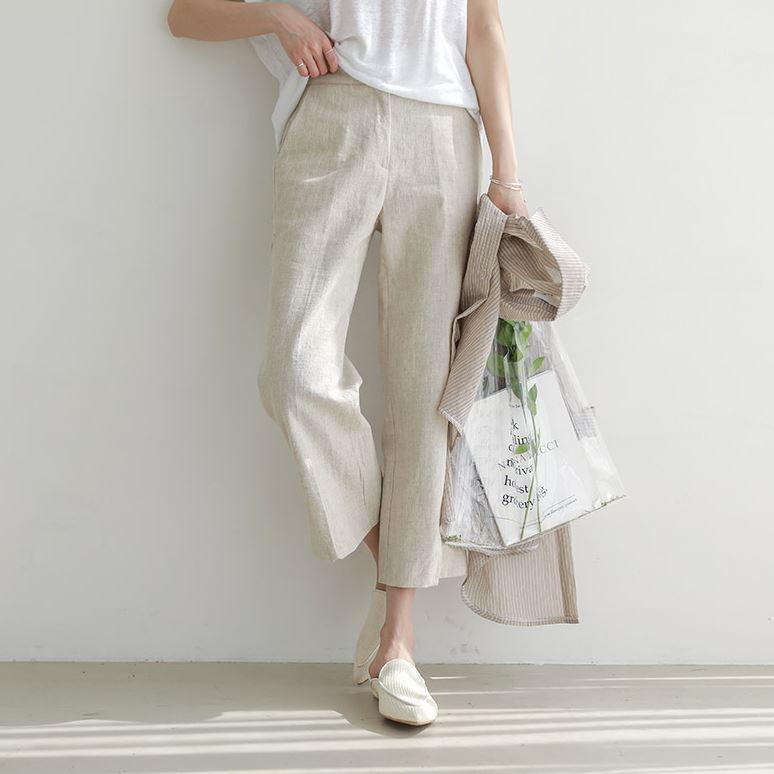 CHICHERA 简约素色长裤 (韩国女装) 【CA376625】