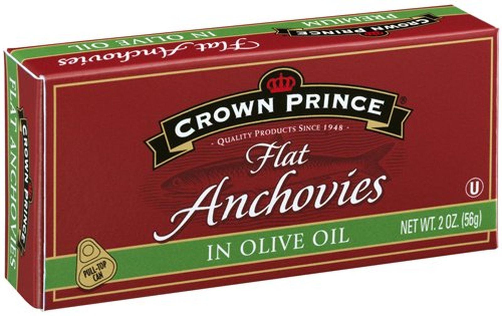 Crown Prince 皇冠小鳀鱼罐头