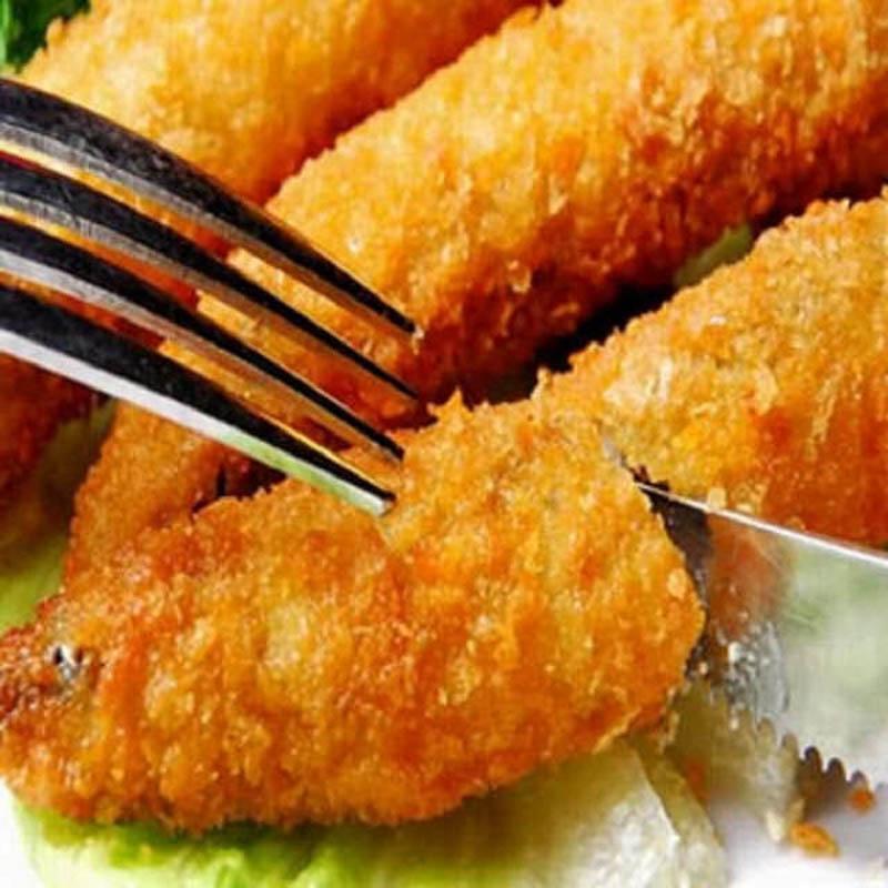 【好神】香酥饱卵柳叶鱼(250g±10%/包*20包)平均单包64.95元
