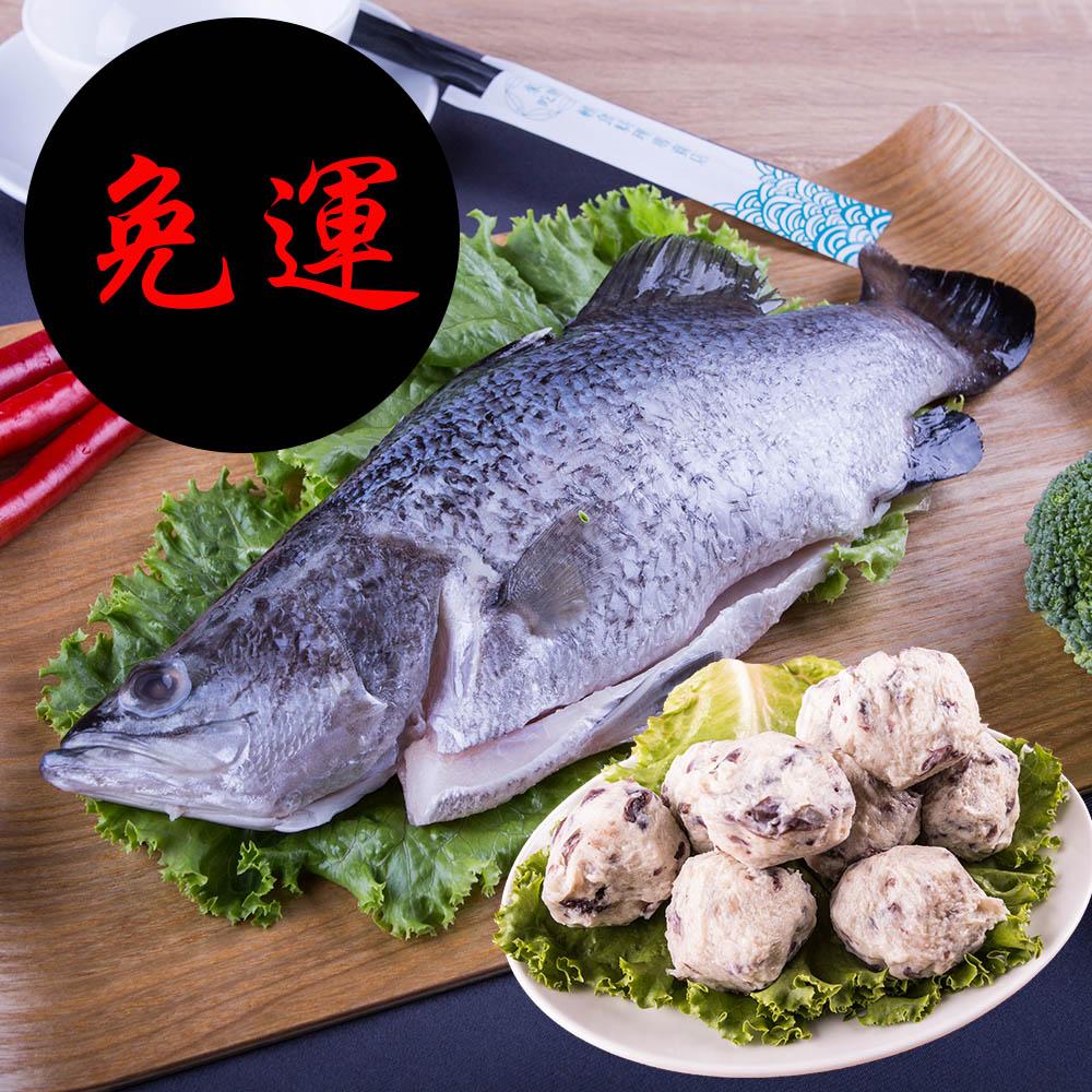 海天使 全鱼+海牡丹鱼丸组 免运费