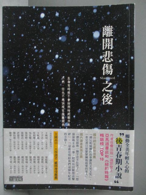 【书宝二手书T1/翻译小说_JSE】离开悲伤之后_柯琳.胡佛