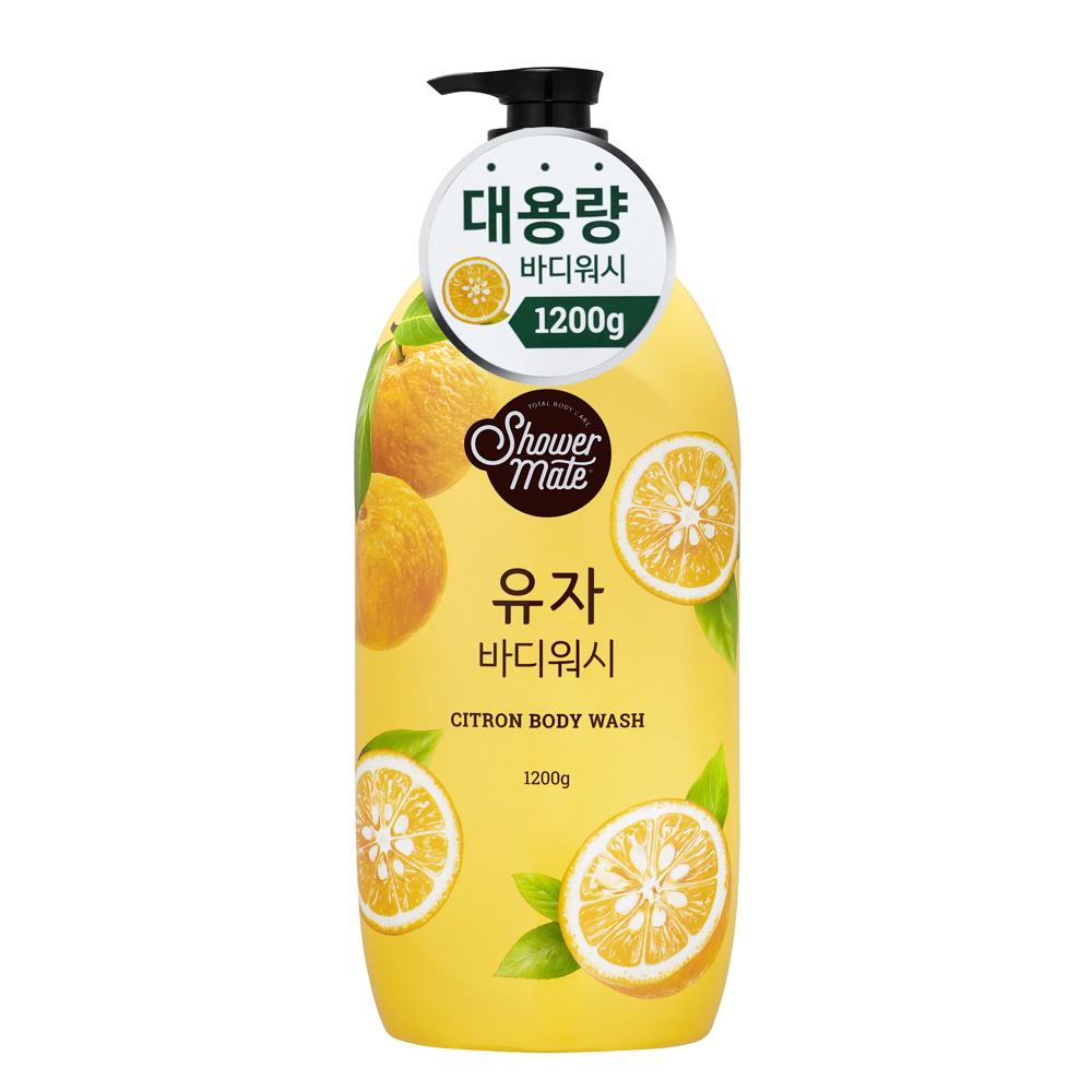 【Shower Mate】微风如沐 果香沐浴乳-甜香柚(1200g)