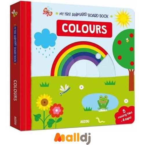 【Malldj亲子购物网】AUZOU  我的第一本推拉小书:颜色篇 #PBD9610028613900