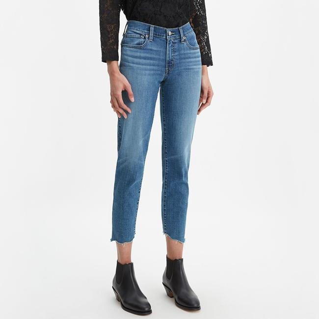 Levi's 李维斯 男友风 及踝女式牛仔裤 4折$20.15起 海淘转运到手约¥185