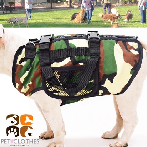 ~好動網~迷彩 寵物裝C99~0138^( 手提式寵物服 寵物衣 寵物衣服寵物服裝 小狗衣
