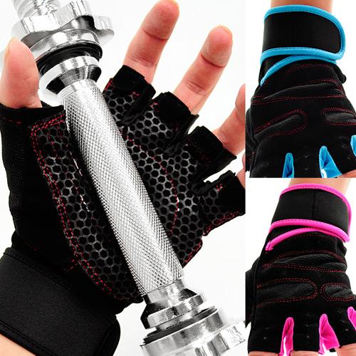 ~好動網~強化護腕 手套D017~01^( 健身手套短手套防護具 止滑手套防滑手套 半指手