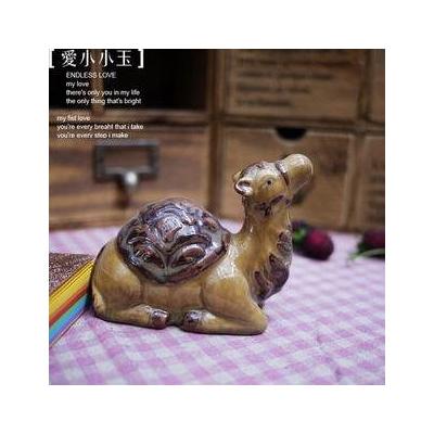 陶瓷駱駝~外貿出口工藝品擺設~趣味家居飾品