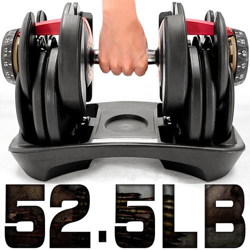~好動網~ 調整52.5磅智慧啞鈴^(15種可調式^)C176~552^( 52.5LB槓