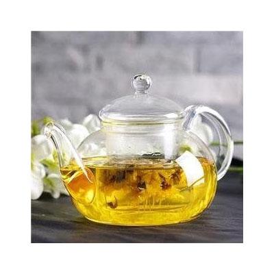玻璃茶壺600ML 過濾內膽 花茶壺 泡茶三件式 耐高溫 玻璃茶具