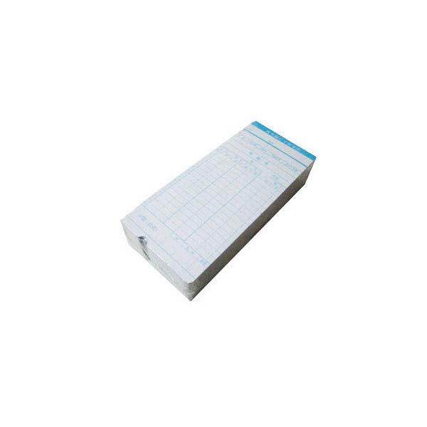 白卡 01型考勤卡紙 打卡紙 打卡機考勤鐘卡紙 考勤機考勤卡