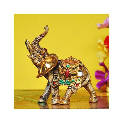 招財大象擺件家居風水吉祥物擺飾工藝品 裝飾品擺設