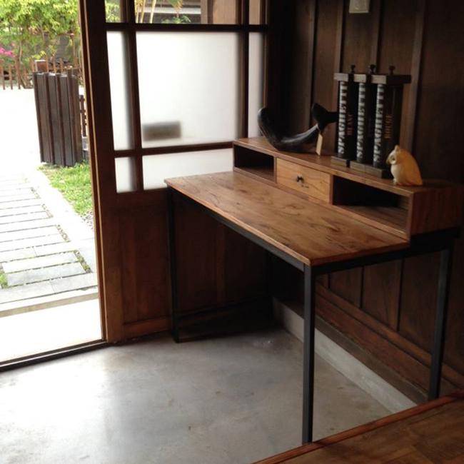 ~YOI~格拉瓦工作桌 YIN~1034工業風 手作風舊木鐵件