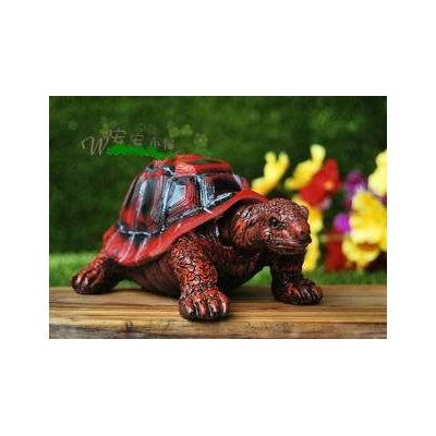 大人兒童都喜歡 吉祥長壽龜情侶海龜擺件 結婚 真小烏龜