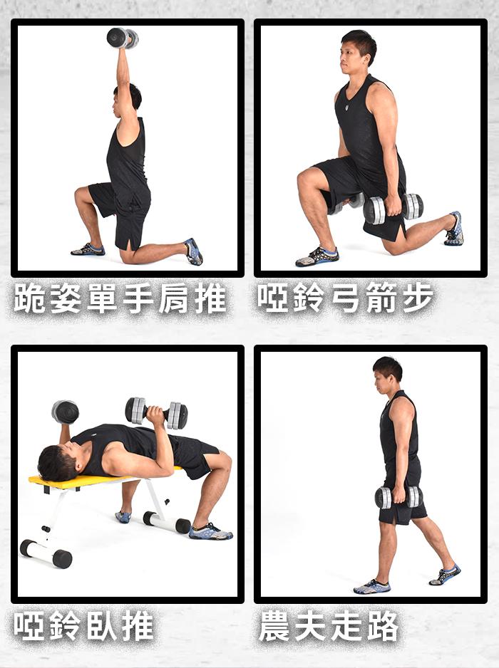 對消脂、訓練肌肉,以及提升心肺功能肌耐力都有很大的正面的影響