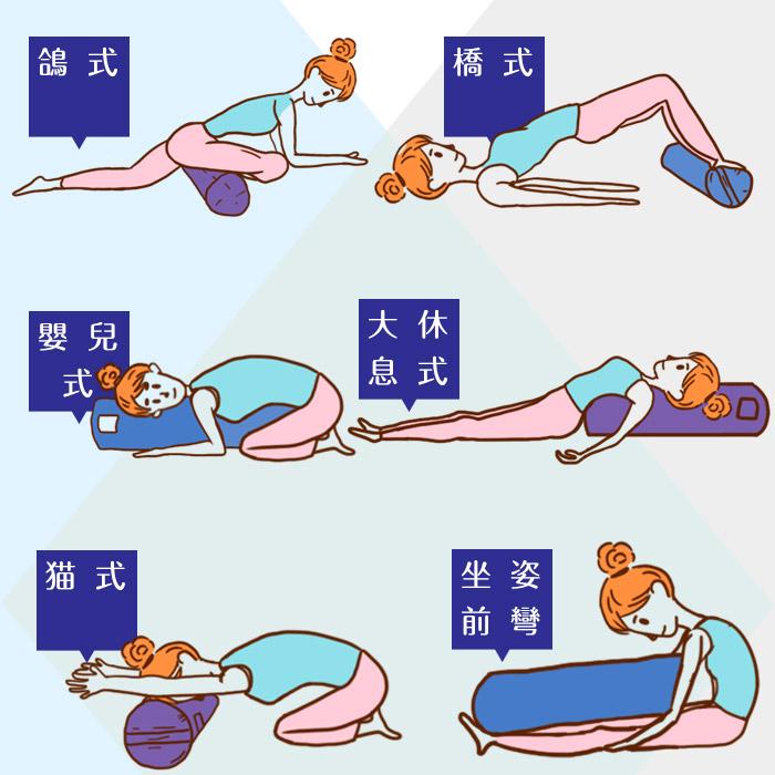 瑜伽枕的用法