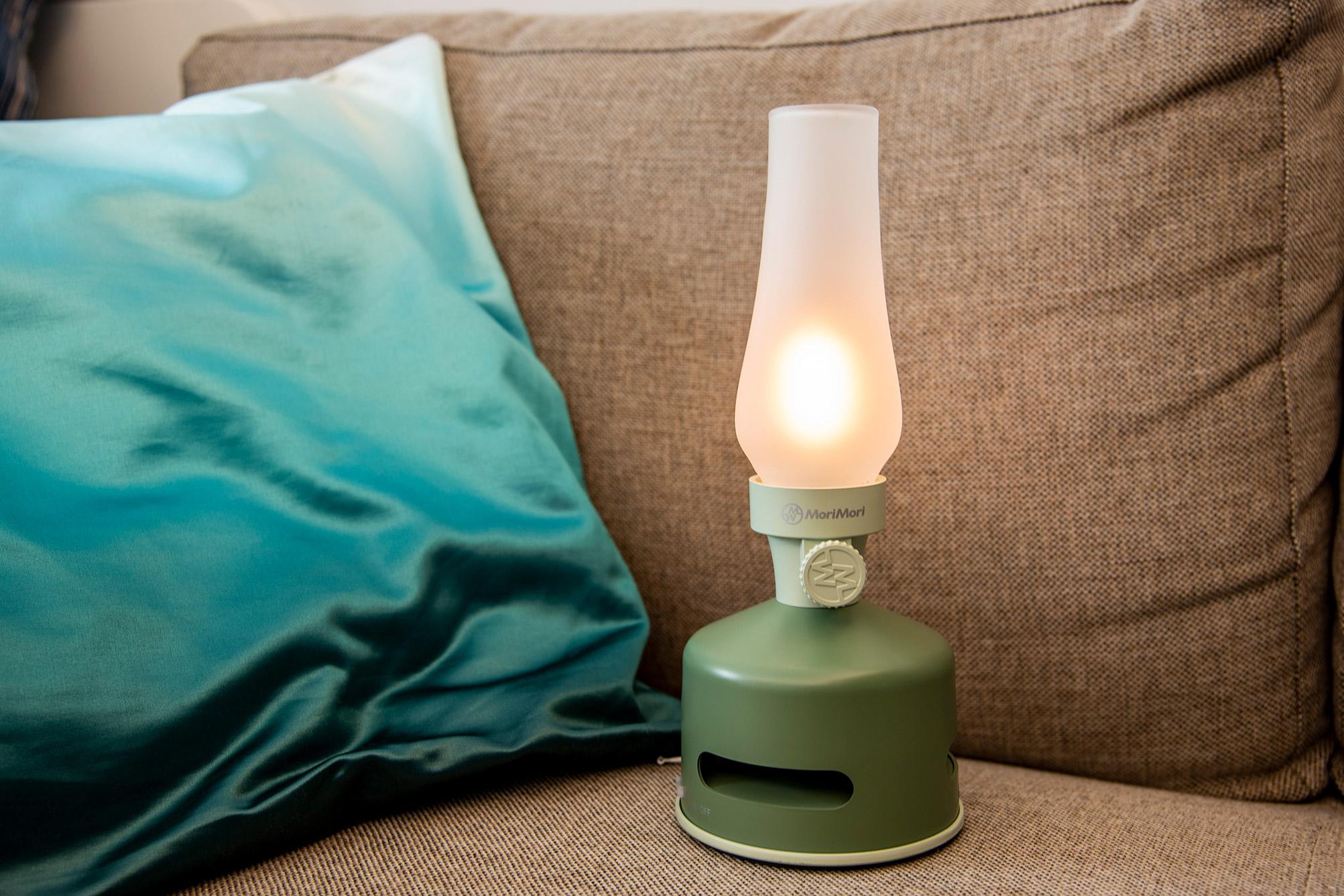 MoriMori LED煤油燈藍牙音響專用霧面玻璃燈罩