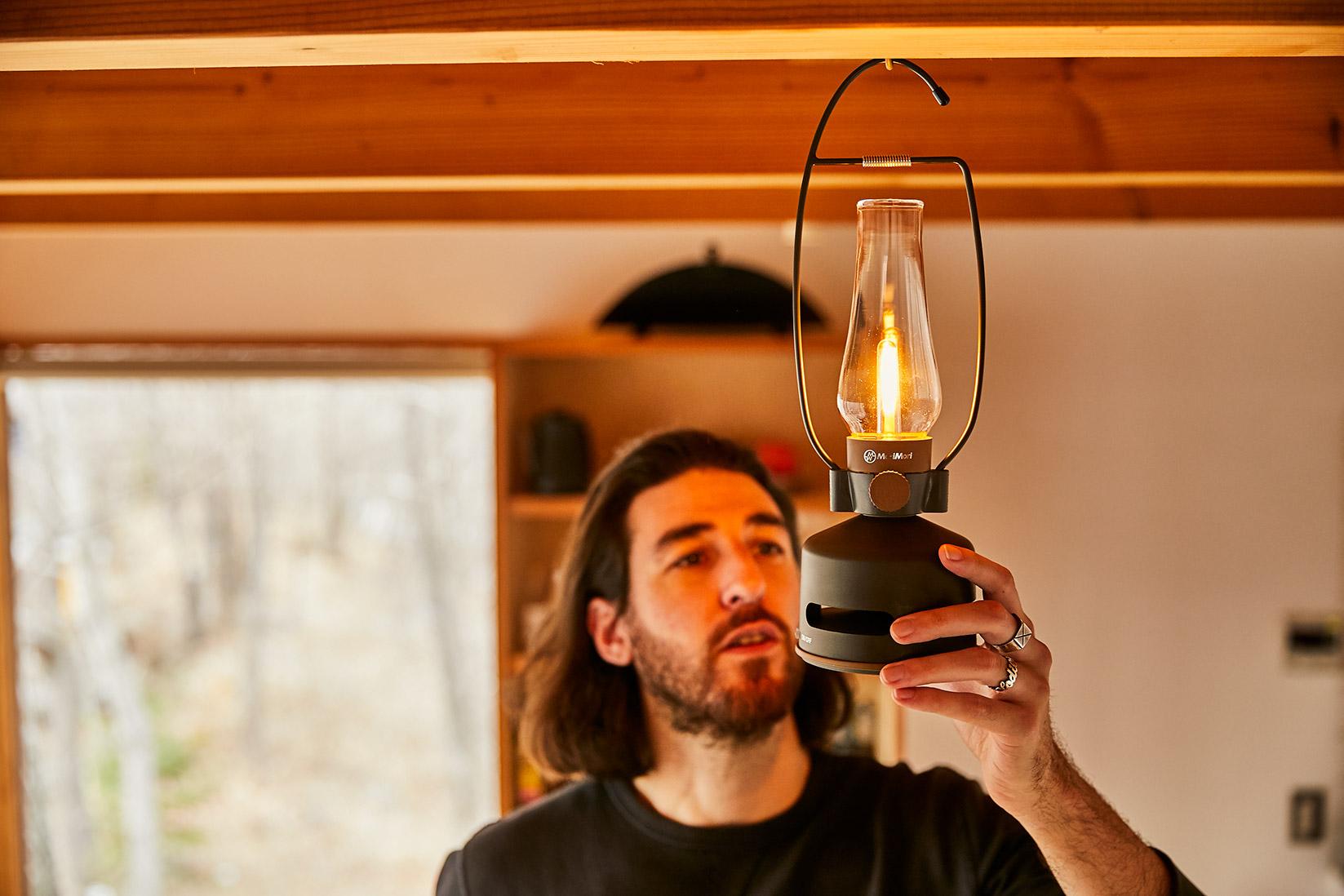 MoriMori LED煤油燈藍牙音響專用吊掛