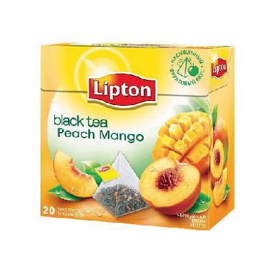立頓香桃芒果茶 20入