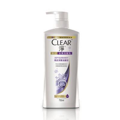 淨 頭皮深層滋養洗髮乳 750ML