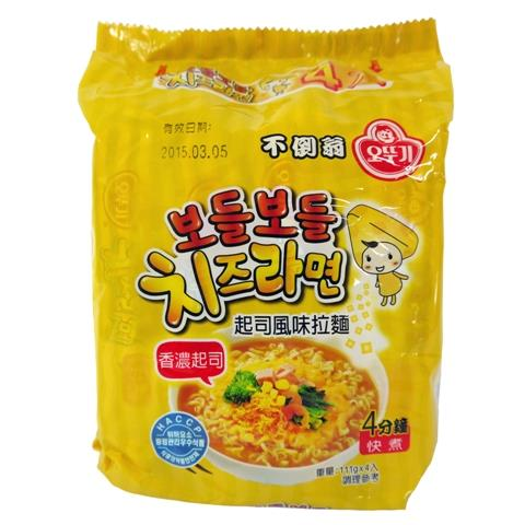 韓國不倒翁(OTTOGI)起司風味拉麵4包入