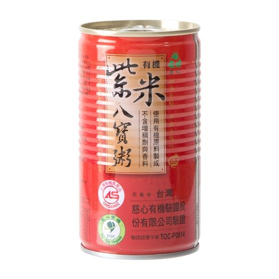 【里仁】有機紫米八寶粥 350g/罐