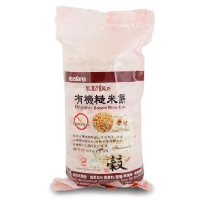 【里仁】有機原味糙米餅 15片/包