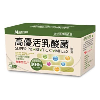 【里仁】生展高優活乳酸菌粉包2g*30包/盒