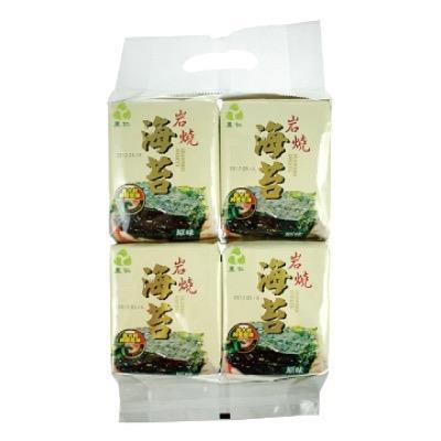 【里仁】新藻岩燒海苔 12g*4盒/包