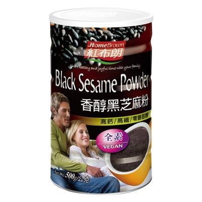 【紅布朗】香醇黑芝麻粉 500g