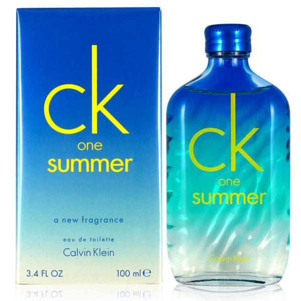 CK ONE summer 2015 夏日限量版中性淡香水 100ml [QEM-girl]