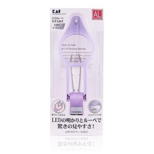 KAI 日本貝印 LED放大鏡指甲剪(附拔毛夾) [QEM-girl]