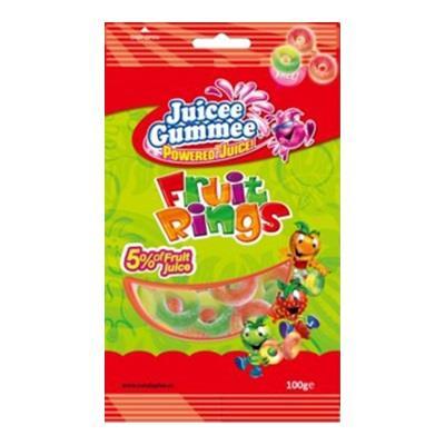 【JUICE GUMMEE】百靈QQ軟糖-綜合圈100G