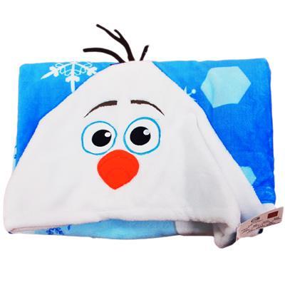 雪寶披肩毯